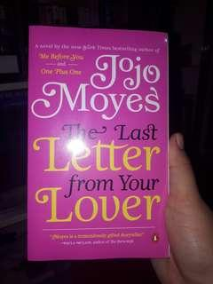 (BRAND NEW) The Last Letter from Your Lover by Jojo Moyes