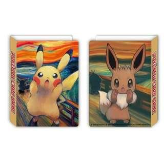 Munch x Pokemon Scream Series Cardholder with Free Mimikyu Promo card (Pre-Order)