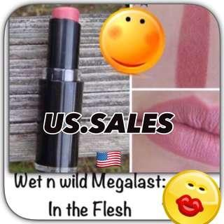 Authentic wet n Wild Megalast Lipstick- In the Flesh