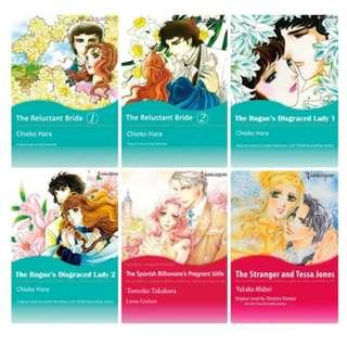 Paket Ebook Komik Harlequin English 27