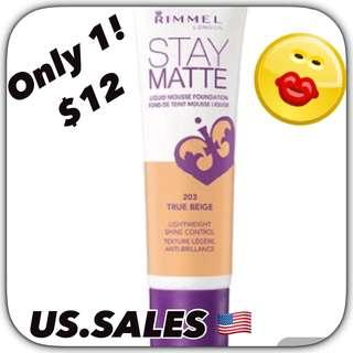 Rimmel Stay Matte Foundation - True Beige