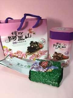 🚚 繽紛阿里山高山茶 4兩 500元/罐