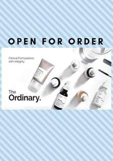Cheapest ! The Ordinary preorder