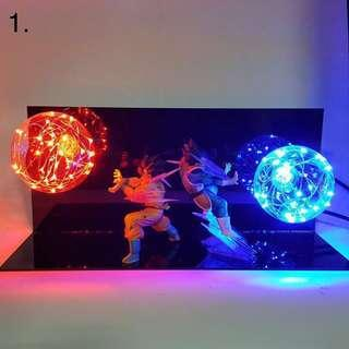 Dragon Ball LED light lamps!