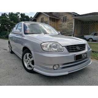 2006 HYUNDAI ACCENT 2006 Hyundai ACCENT 1.5 (A) FULL SPEC