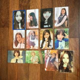 [Clearance] Gfriend Photocards