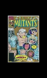 THE NEW MUTANTS #87 (1992) Gold Variant 1st Full Appearance of Cable!
