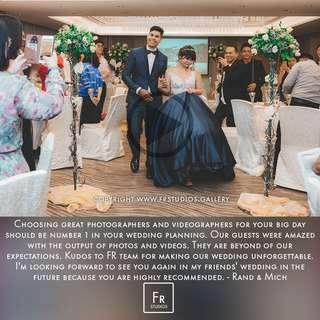 Wedding Videgrapher & Photographer / ROM / AD / Pre-wedding