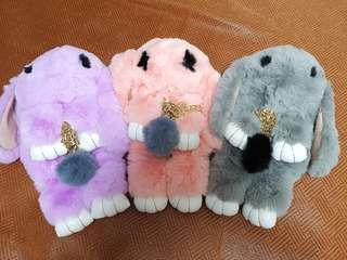 (2 LEFT) Bunny Sling Bag NOT KEYCHAIN (cute and fluffy rabbit)