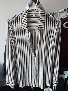 Satin Stripe shirt