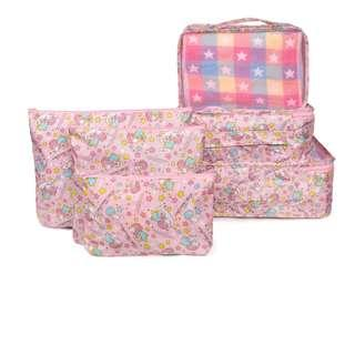 Travel Bag Set of 6 (Little Twins Star)