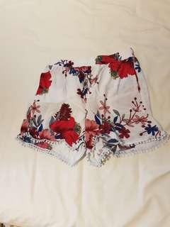 Zaful floral shorts