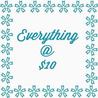 Everything $10
