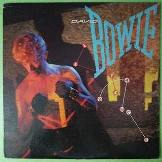 "【舊版""Rock, Pop""黑膠唱片】David Bowie ~ Let's Dance (1983 US)"