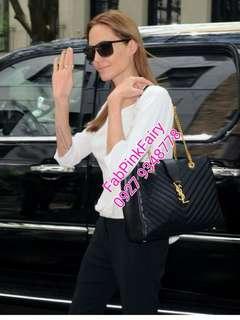 With Engraves YSL Bag YSL Shoulder Bag Yves Saint Laurent Bag YSL Chain Bag