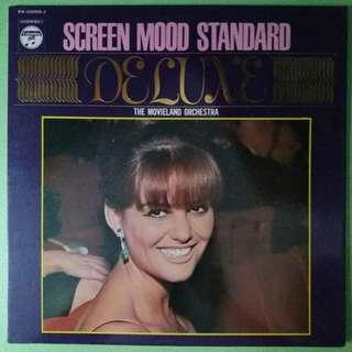 """【舊版""""Classical""""黑膠唱片】The Movieland Orchestra ~ SCREEN MOOD STANDARD DELUXE (1969 Japan)"""