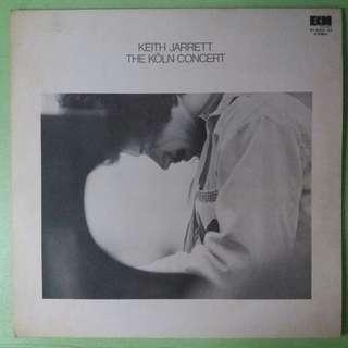"""【舊版""""Jazz""""黑膠唱片】Keith Jarrett ~ The Köln Concert (1975 Japan)(2LP)"""