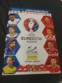 Road to euro 2016 集圖冊