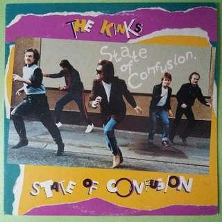 """【舊版""""Rock""""黑膠唱片】The Kinks ~ State Of Confusion (1983 Japan)"""