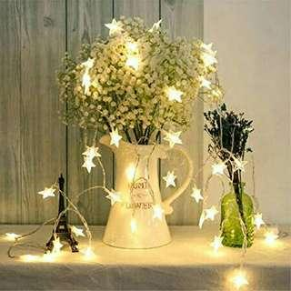 Led christmas xmas star light 5M mixed/warm white