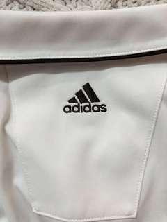 White Adidas Crop