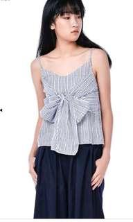 BN TEM AMERLY KNOTTED TOP