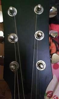 Gitar custom masih baru