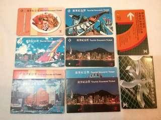 MTR 遊客紀念票 ,港鐵