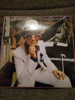 ELTON JOHN GREATEST HITS LP 黑膠唱片