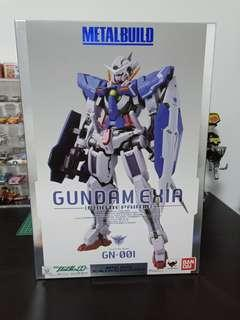 Bandai metal build gundam exia pg mg hg rg