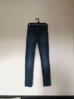 High Waisted Levi's Jeans