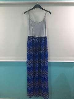 Forever21 Tribal Boho Maxi Dress