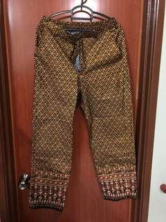 Thai silk pant
