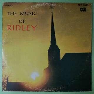 【舊版黑膠唱片】The Music Of Ridley (Canada)