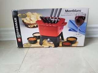 New Montblac Fondue Set