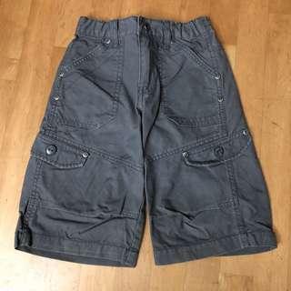 BOSSINI KIDS Grey Cargo Pants / Shorts size 110