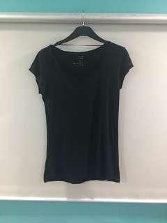 Bench Plain Black Shirt
