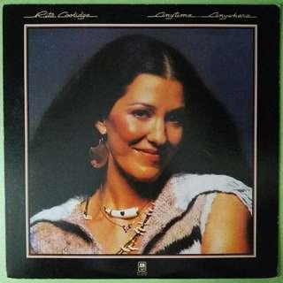 "【舊版""Rock, Pop""黑膠唱片】Rita Coolidge ~ Anytime... Anywhere (1977 Japan)"