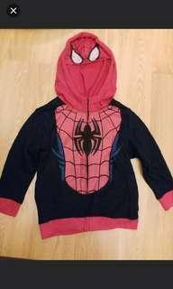 全新正版 Disney  Marvel 男童 蜘蛛俠 外套 合4至7歲