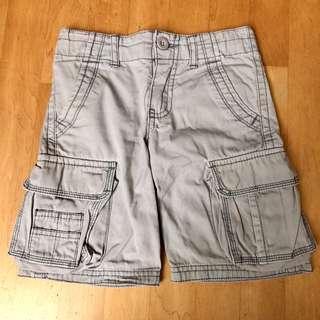 FOX KIDS Grey Cargo Pants / Shorts for Boys size 100 / 4