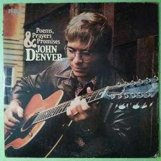 "【舊版""Rock""黑膠唱片】John Denver ~ Poems, Prayers & Promises (1974 Japan)"