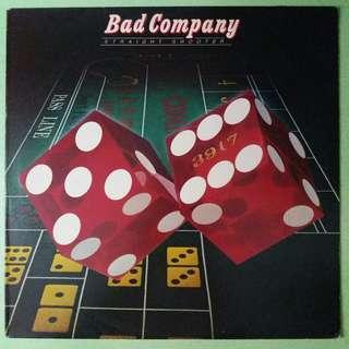 """【舊版""""Rock""""黑膠唱片】Bad Company ~ Straight Shooter (1975 UK)"""