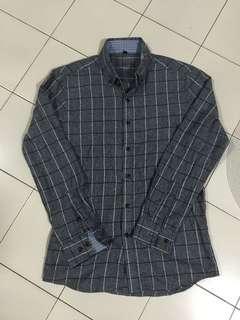 Grey Checkered Shirt