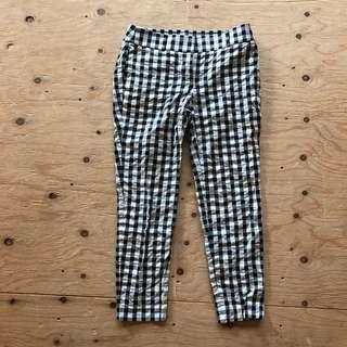 Loft checkered dress pant - size 0P