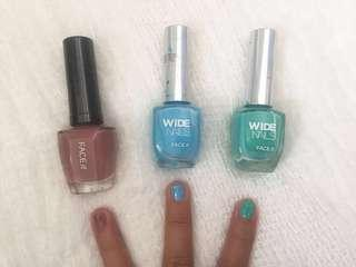 SALE 49k for 3 Face Shop Nail Polish