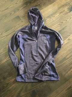MEC T3 thermal zip up - ladies size small