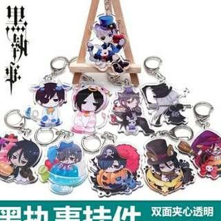 Black Butler key chain anime