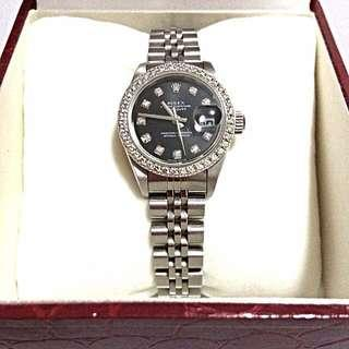AUTHENTIC ROLEX LADY DATEJUST