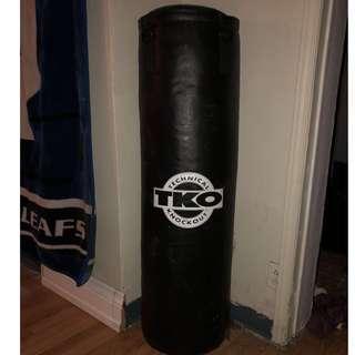 TKO Knockout 100lb Punching Bag