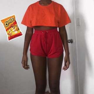 orange crop top🍊